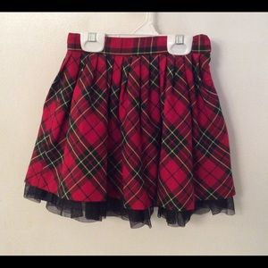 E-Land plaid skirt. Size 2T